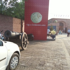 The venue - Qila Gobindgarh