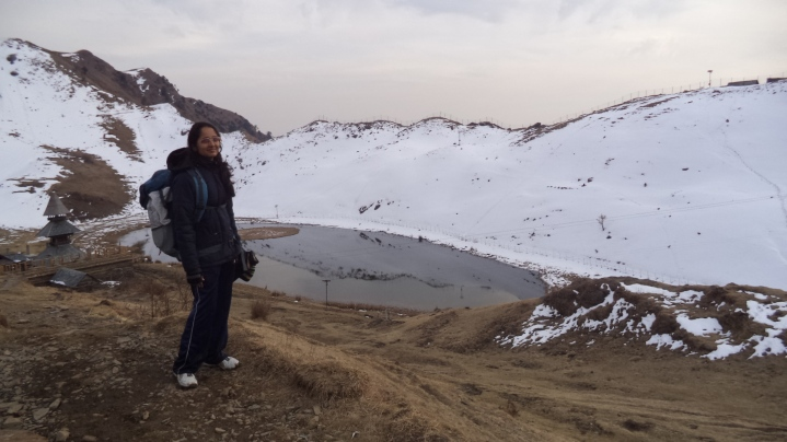 Parashar Lake - the only winter trek I have undertaken till date. I was worried about freezing in the night in the tent, but happy to inform I made it to the next day all ok!