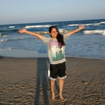 The joy of being near the sea . My first trip - to Pondicherry.