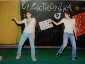Dancing at a department fest